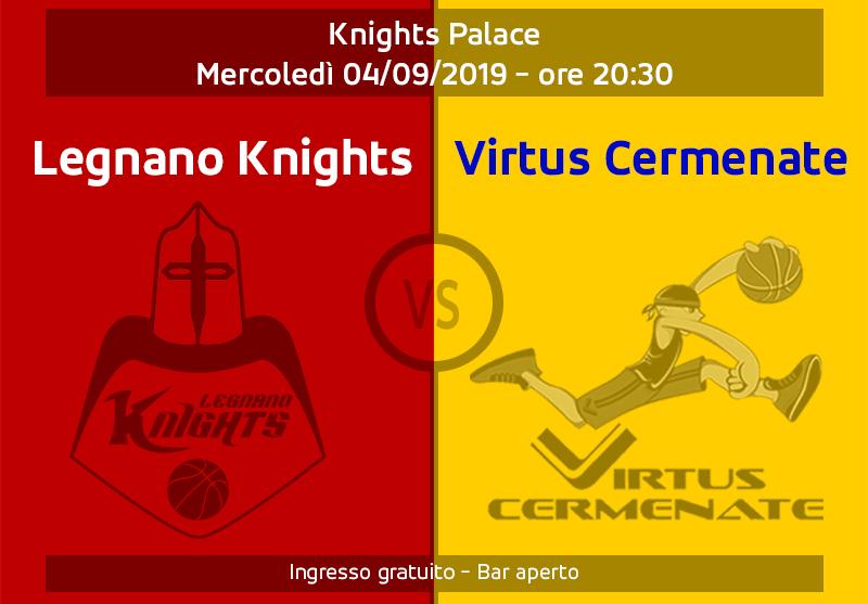 Prima amichevole per i Knights e festa dello sport