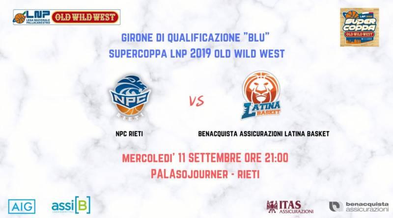 Per la Benacquista secondo appuntamento con la Supercoppa, mercoledì a Rieti