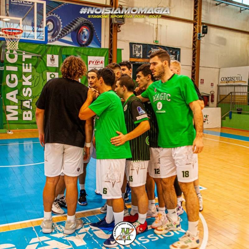 Buona la prima per la Magic Basket Chieti: il Nuovo Basket Aquilano non passa al PalaDayco
