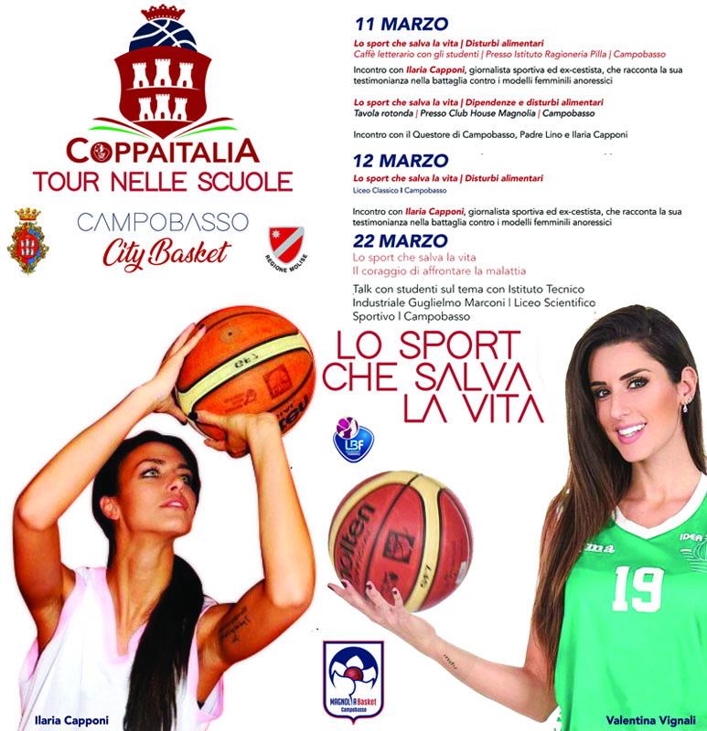 Coppa Italia, lunedì il via agli eventi di sensibilizzazione sociale