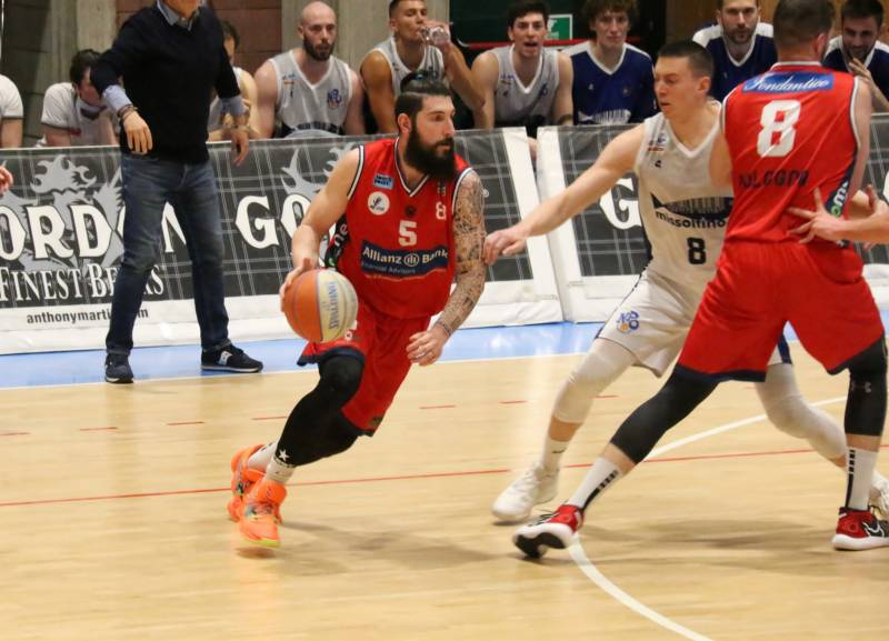 Il Bologna Basket 2016 cede  al supplementare con Olginate: 99-94