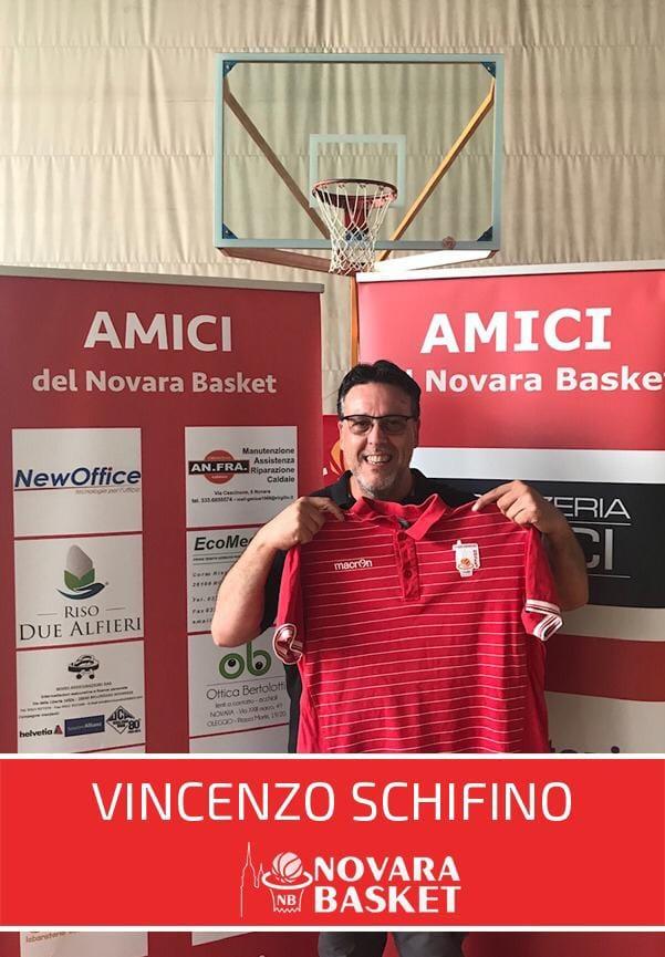 Altro arrivo di sostanza tra nello staff tecnico: un grande benvenuto a Vincenzo Schifino!