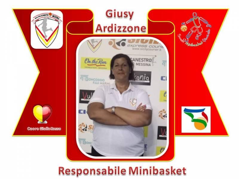 Giusy Ardizzone nuovo responsabile del settore Minibasket