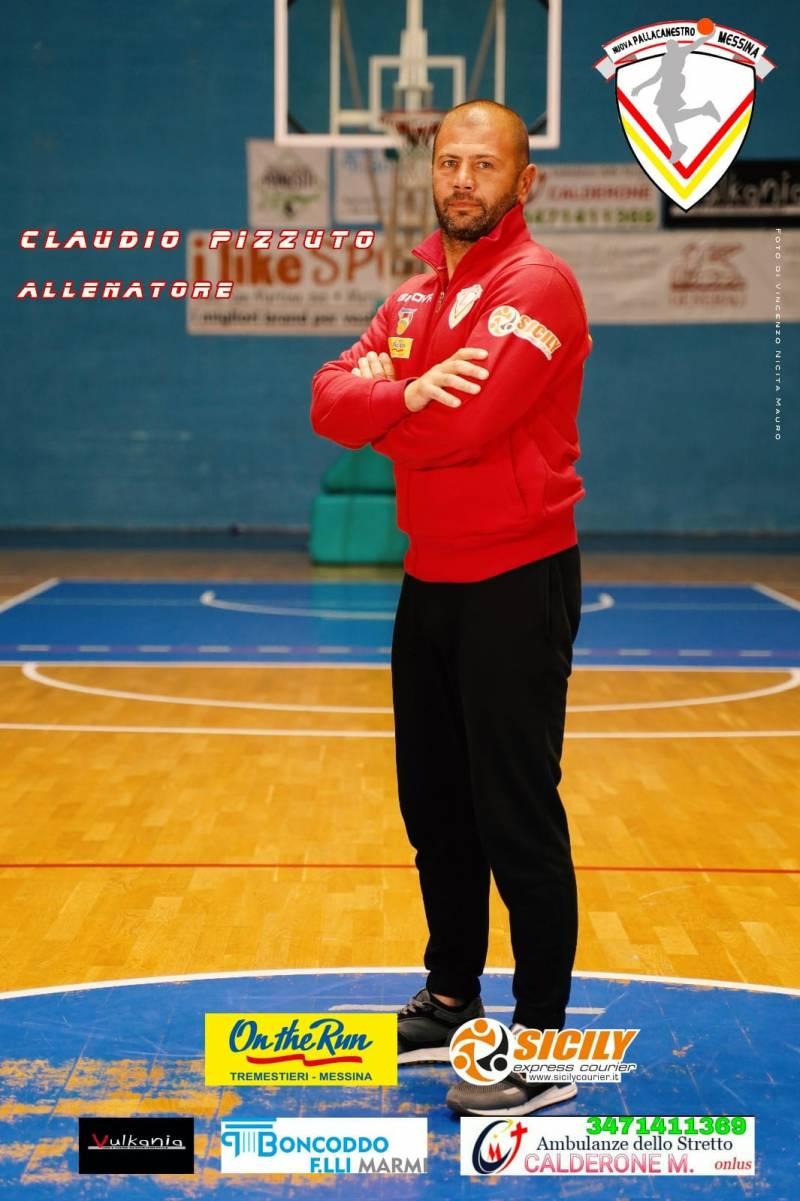 La Nuova Pallacanestro Messina si complimenta con coach Claudio Pizzuto