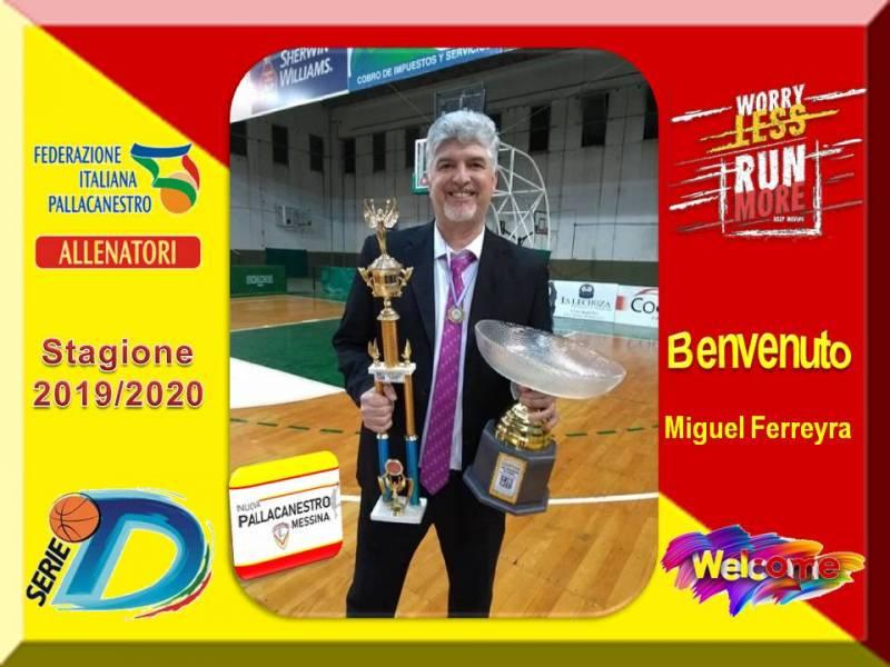 NPM, coach Miguel Ferreyra nuovo ingresso nello staff tecnico