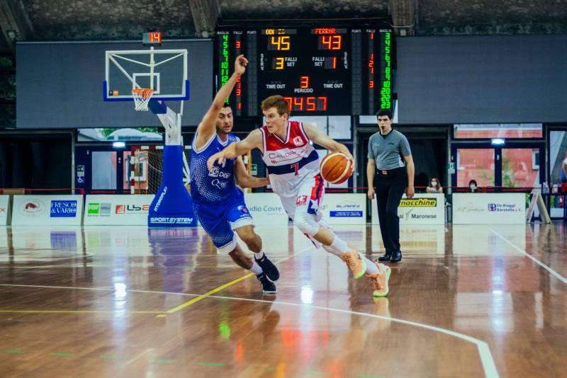Vittoria al fotofinish per la Calorflex Oderzo contro Basket 2018 Ferrara