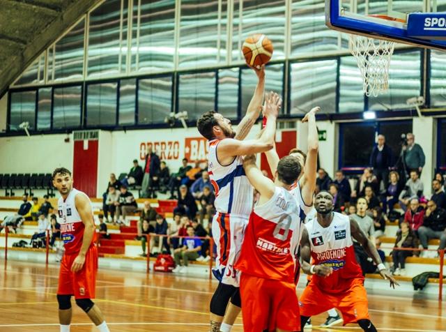 Seconda sconfitta per l'Oderzo Basket che cade in casa contro Pordenone