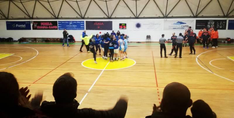 L'Olimpia Capri Basket  Vince la combattuta partita casalinga contro la Givova Ladies Scafati