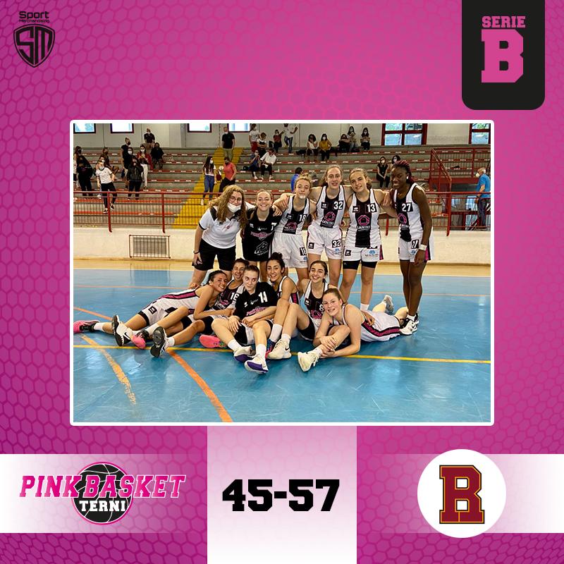 Partita durissima a Terni per Basket Roma