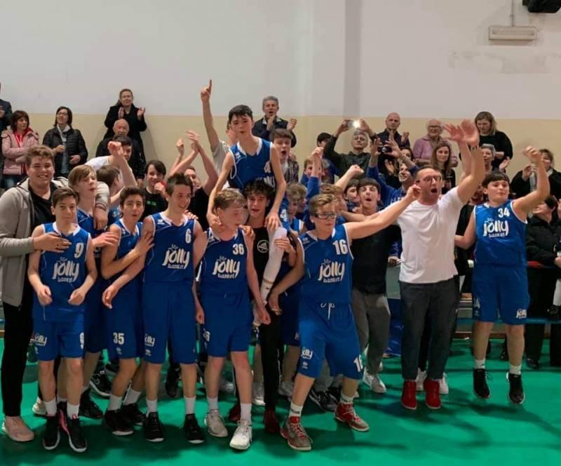 Jolly Basket, impresa incredibile: Campioni Provinciali U14 Padova 2018-19