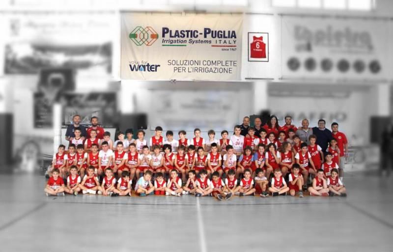 Si è tenuto venerdì 31 maggio il saggio di chiusura del Centro MiniBasket Plastic Puglia dell