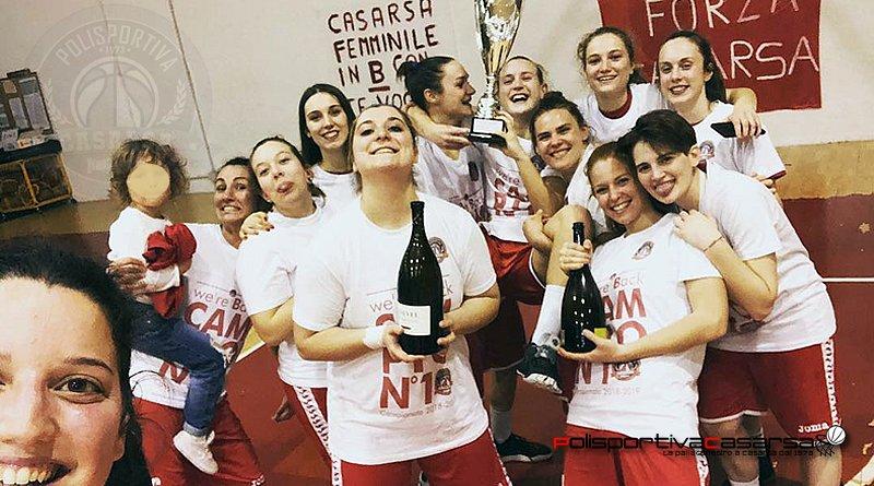 Casarsa vince tutto ed è promossa in Serie B