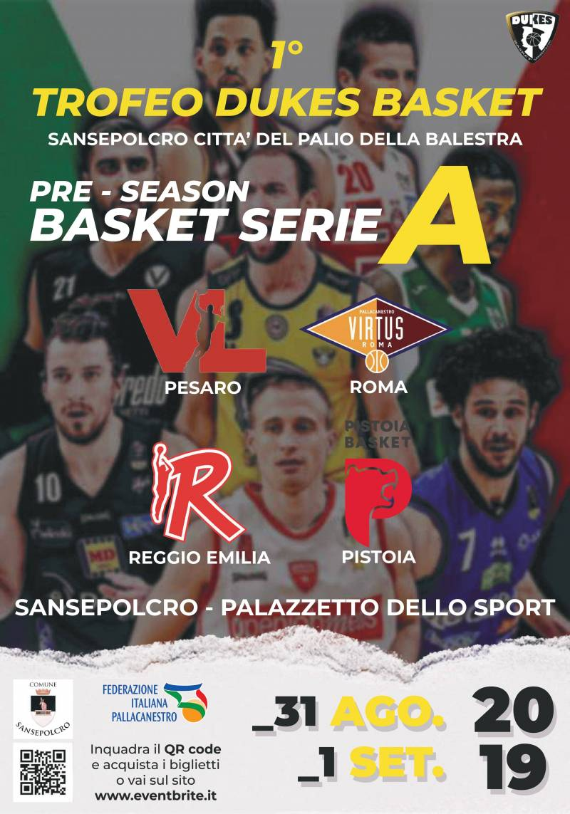 1° Trofeo Dukes Basket PRE SEASON SERIE A