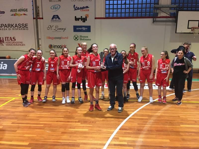 Acciaierie Valbruna Campioni Regionali U14 con finalissima da applausi. Battuto Basket Rosa 62-34