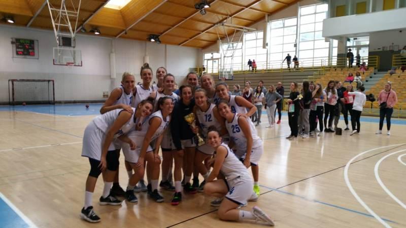 La Serie B femminile si aggiudica il torneo di Zasavje