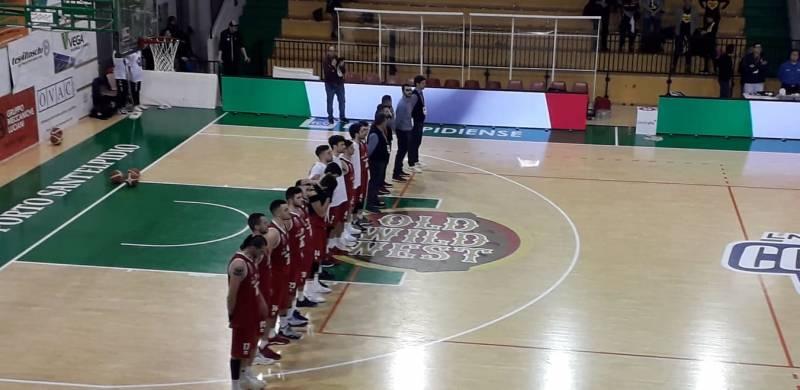 Ai quarti di Coppa Italia LNP Passa Omegna, ma tanti, tantissimi applausi all