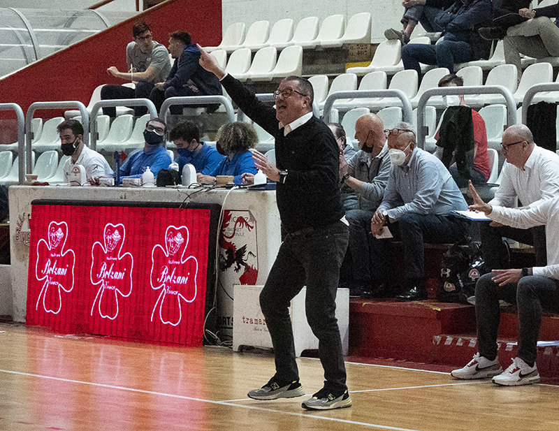 La Tramarossa Vicenza riparte da coach Cesare Ciocca