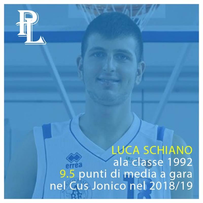 Luca Schiano è un nuovo giocatore della Pielle Livorno