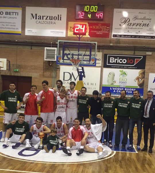 L'Enic Pino Dragons vince la Coppa Toscana 2018-19