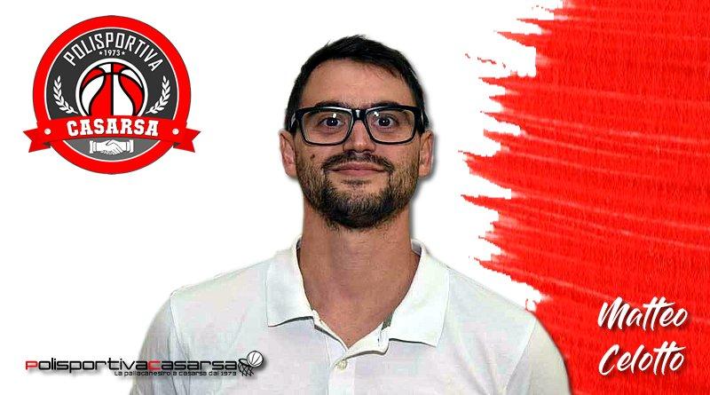 Matteo Celotto è il nuovo allenatore della squadra di Serie D Maschile 2018-19