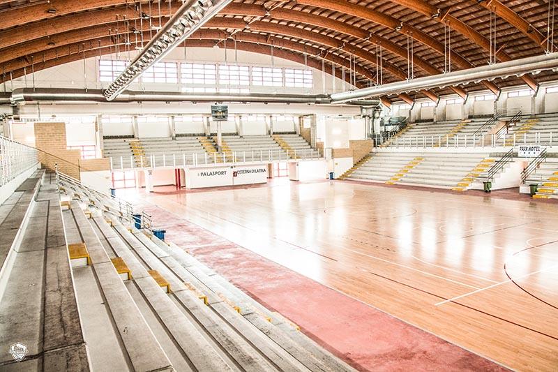 Comunicato campo di gioco 2019-2020: Palasport Cisterna di Latina