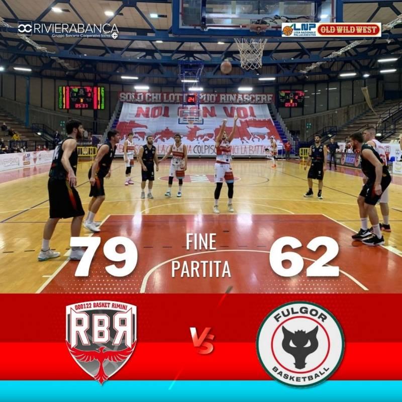 Super vittoria al Flaminio per Rivierabanca Basket Rimini