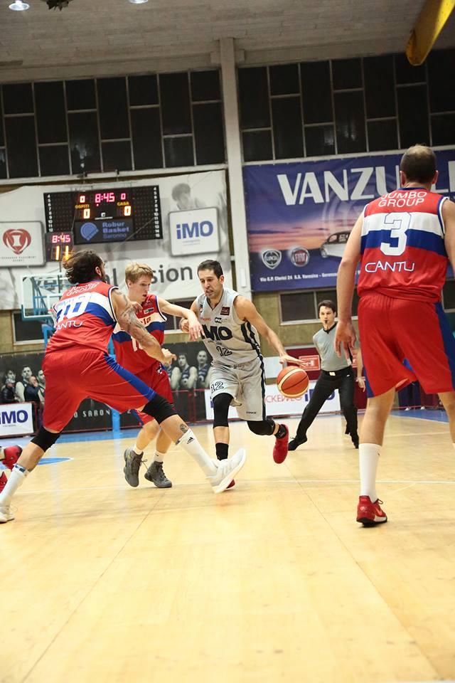 Dolce ritorno a casa per la iMO Robur Basket Saronno: contro Cantù è poker
