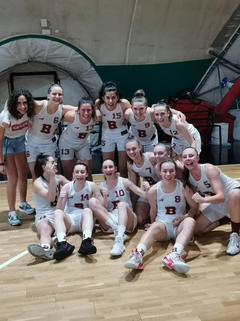 Finisce con una vittoria memorabile il campionato di B femminile del Basket Roma: superata Roseto
