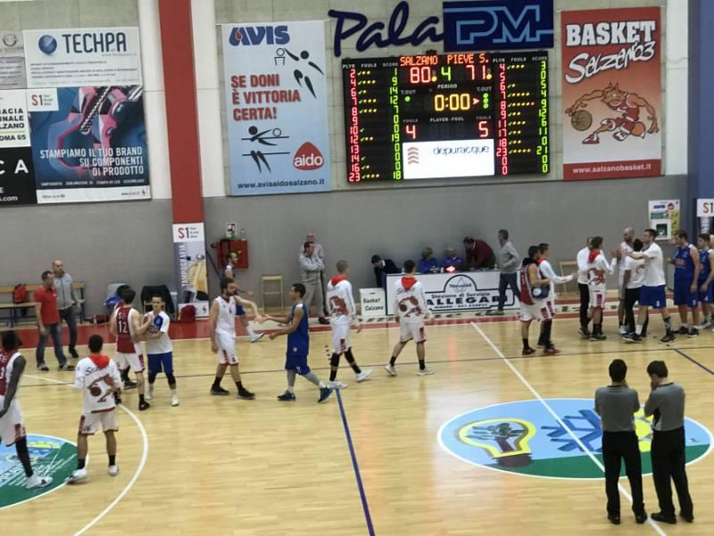 Il Basket Salzano ritorna a vincere: superata Pieve di Soligo