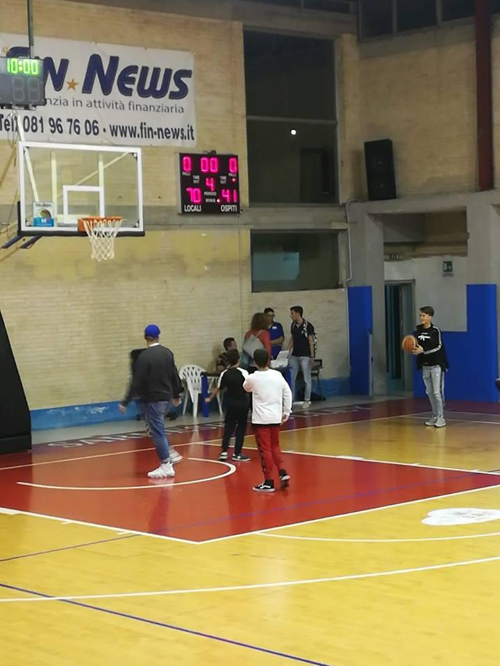 Il Basket Sarno cala il tris