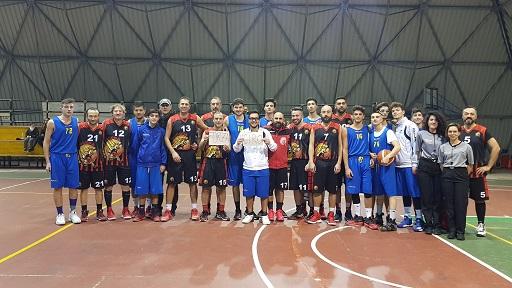 8ª andata: UISP A. Simeon - Basket NOCERA – 75-62
