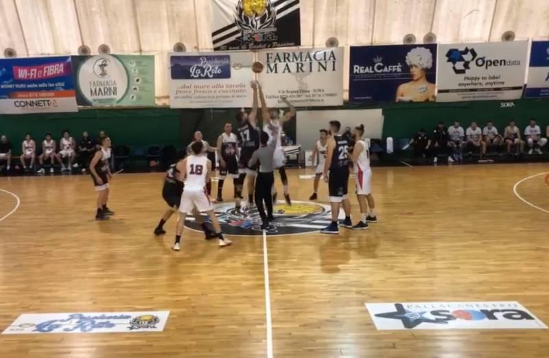 Virtus Pomezia Basket espugna anche Sora