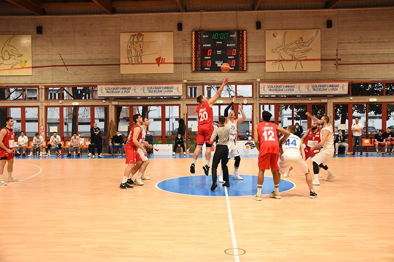BC Lucca esordisce a La Spezia