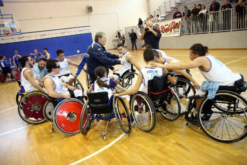 A Latina una domenica di emozione sportiva con il basket in carrozzina