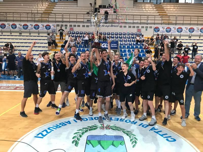 La Stella Azzurra Roma si conferma Campione d'Italia Under 15 Eccellenza