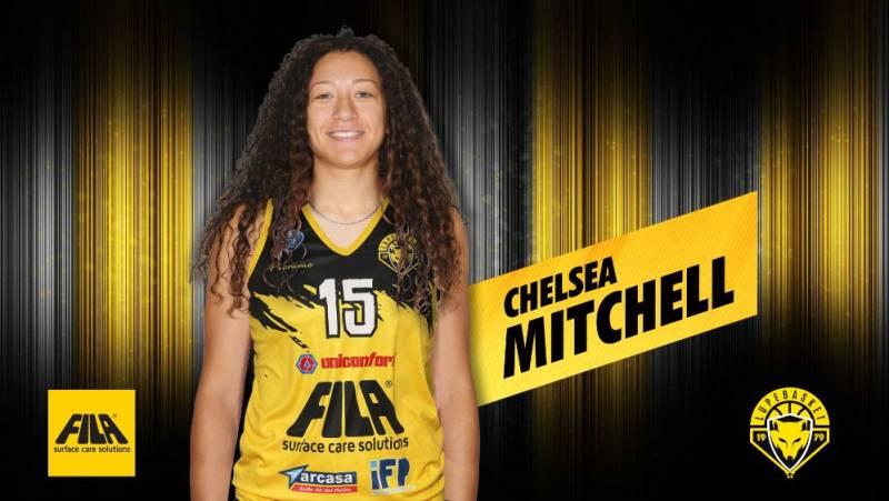 Il Fila ingaggia Chelsea Mitchell, top scorer dell