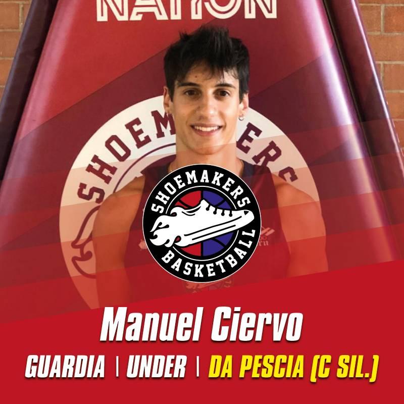 Ancora un colpo Under per i ciabattini: ecco Manuel Ciervo, lo scorso anno a Pescia in C Silver