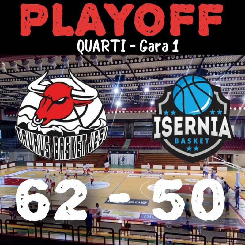 Basket Isernia cade alla prima di playoff a Jesi