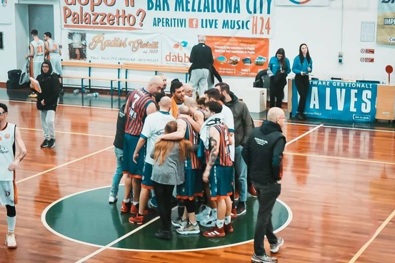 Bellissima TKS CALKE Massafra alla 1' giornata playoff per la Serie C Silver, ma non basta