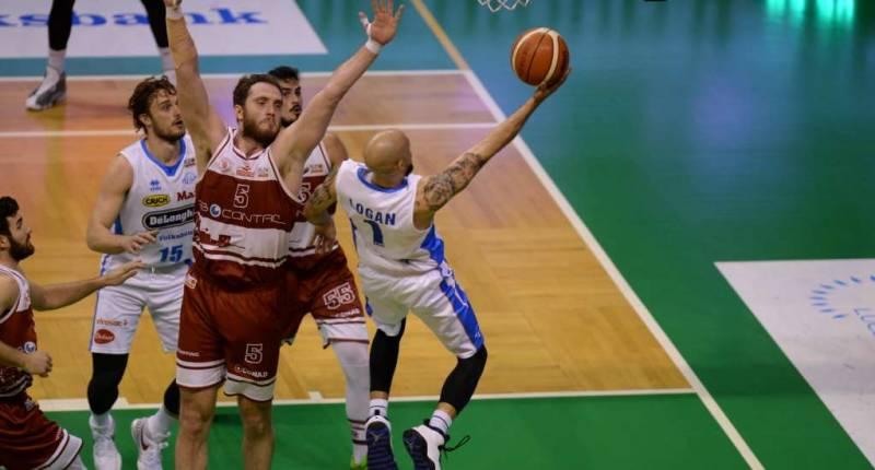 Trapani perde gara 5 a Treviso e termine la sua stagione