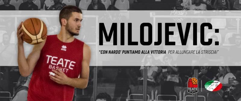 """Milojevic: """"Con Nardò puntiamo alla vittoria per allungare la striscia!"""""""