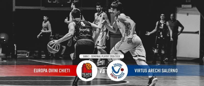Semifinali di B al via: Chieti affronta la Virtus Arechi Salerno con il vantaggio del fattore campo!