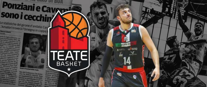 La Teate Basket riconferma Riziero Ponziani