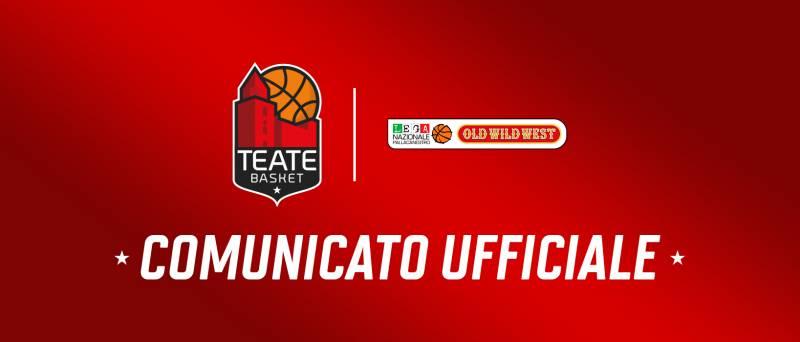 Comunicato ufficiale: Nikola Mijatovic resta a Chieti