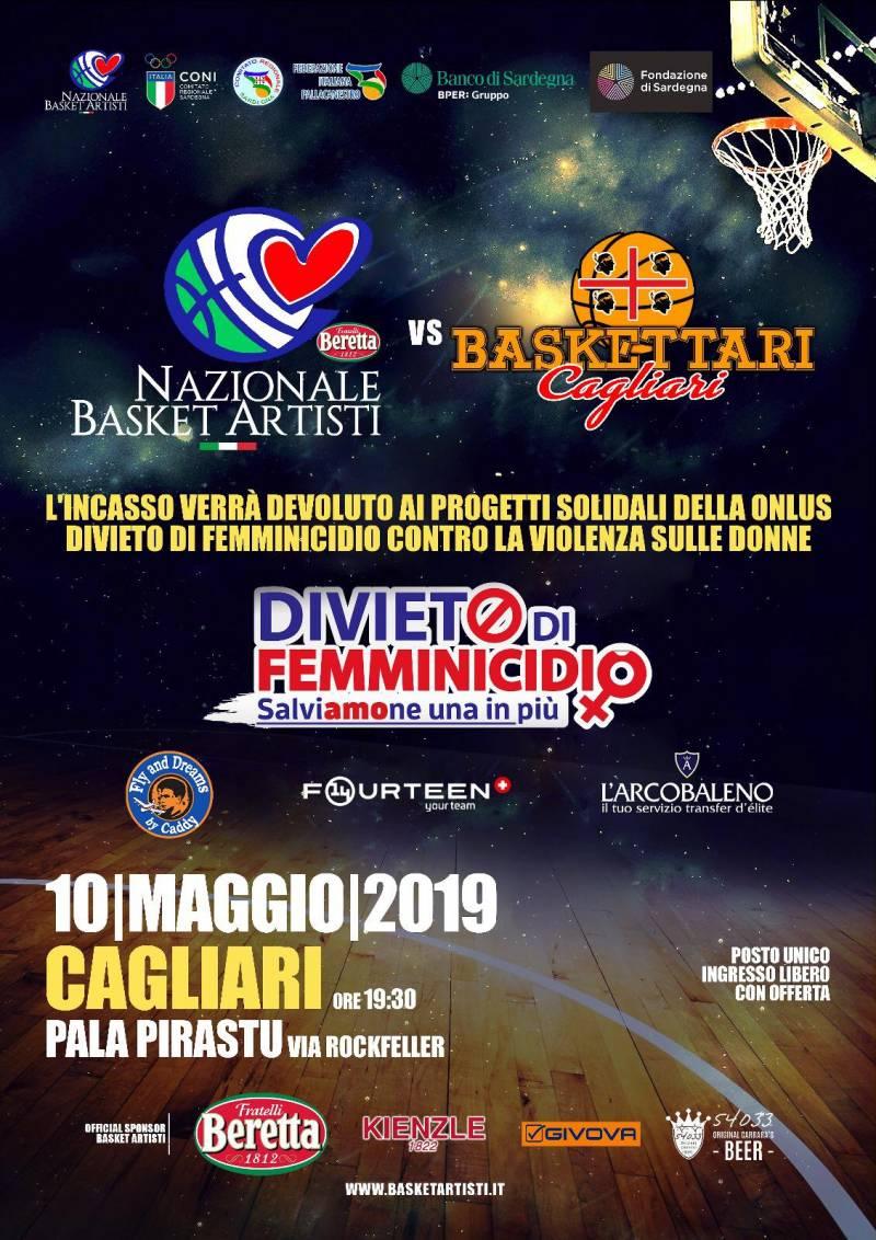 Domani a Cagliari la Giornata del Basket contro la violenza sulle donne