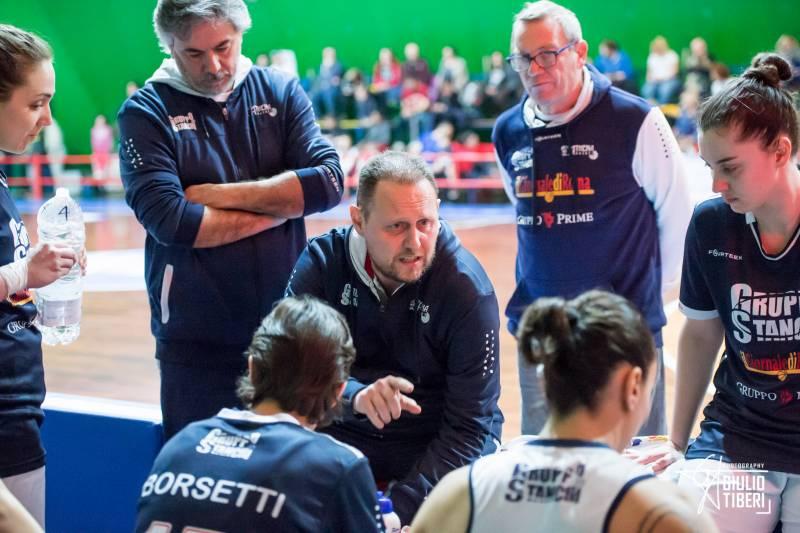 Francesco Goccia allenatore Gruppo Stanchi Athena 2019/20