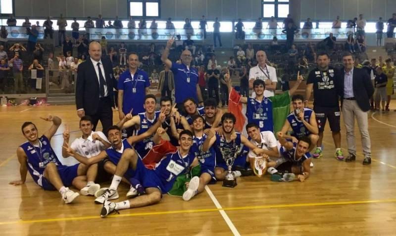 Dinamo Campioni d'Italia U18 Elite!