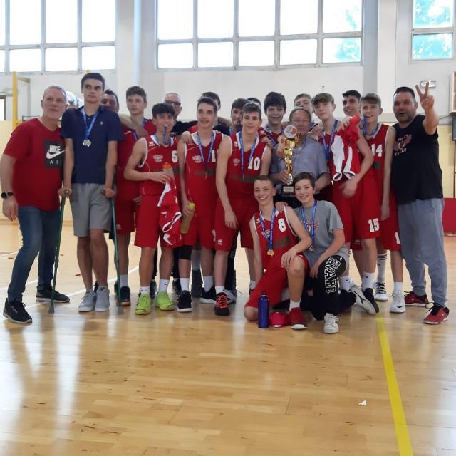 basket favaro campione regionale under 15 gold