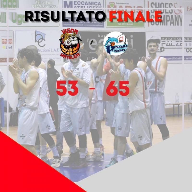 La Pescara Basket sbanca Matelica e si avvicina alla vetta!