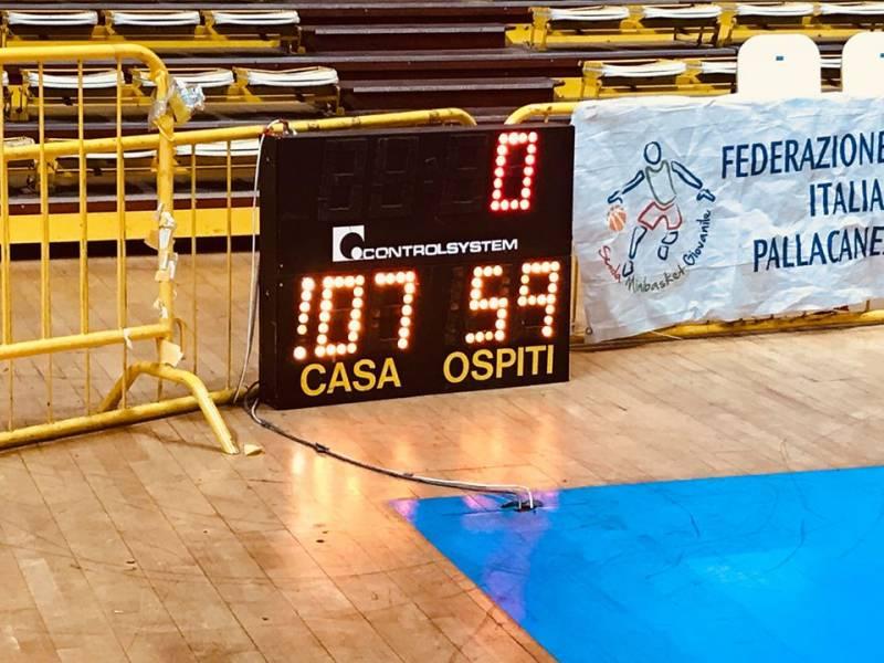 La Pallacanestro Viola vince la decima contro il Basketball Lamezia